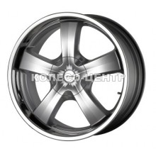 Mak G-Five 9x20 5x130 ET50 DIA71,6 (silver)
