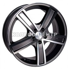 Racing Wheels H-412 6,5x15 5x105 ET39 DIA56,6 (BK-F/P)