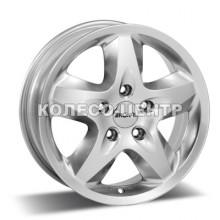 Ronal R44 6,5x16 5x160 ET60 DIA65,1 (crystal silver)