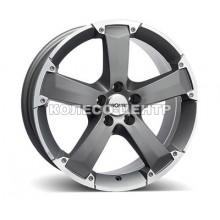 Ronal R47 8x17 5x118 ET45 DIA71 (titanium rim lip diamond cut)
