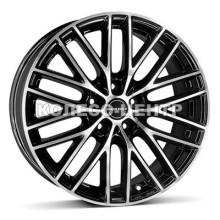 Borbet BS5 7x16 5x105 ET40 DIA56,6 (black polished)