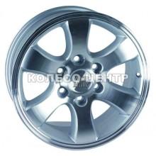 WSP Italy Toyota (W1707) Yokohama Prado 9,5x20 6x139,7 ET30 DIA106,1 (chrome)