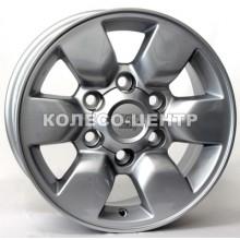 WSP Italy Toyota (W1761) Aomori 7x15 6x139,7 ET30 DIA106,1 (silver)