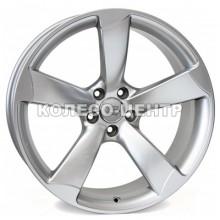 WSP Italy Audi (W567) Giasone 8,5x18 5x112 ET29 DIA66,6 (hyper silver) Колесо-Центр Запорожье
