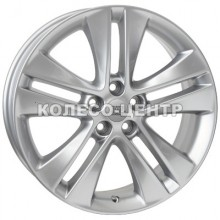 WSP Italy Opel (W2507) Astra 7x17 5x115 ET44 DIA70,2 (hyper silver)