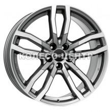Alutec Drive 9x20 5x112 ET52 DIA66,6 (metal grey front polished)