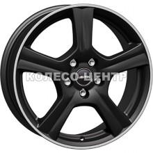 Autec Ionik 7x17 5x105 ET38 DIA56,6 (matt black polished)