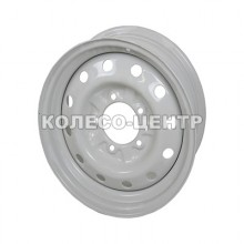 Кременчуг УАЗ 6x16 5x139,7 ET17 DIA108,5 (белый)