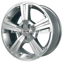 Maxx Wheels M393 5,5x13 4x100 ET20 DIA67,1 (silver)