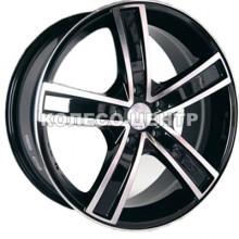Racing Wheels H-412 6,5x15 5x105 ET39 DIA56,6 (BKFP)
