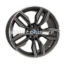 Replica BMW (B5181) 8x18 5x120 ET32 DIA74,1 (black machined face)