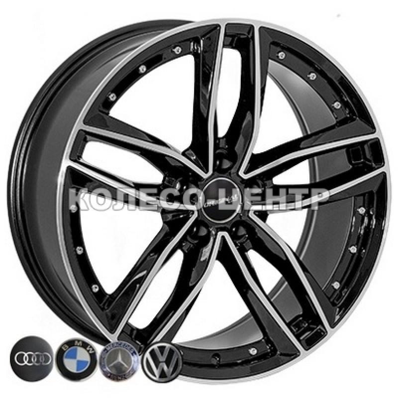 Replica Volkswagen (JH-00845B) 8,5x20 5x112 ET20 DIA66,6 (BP)