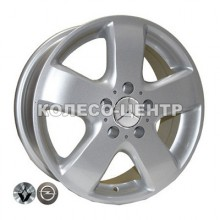 Replica Volkswagen (Z343) 6,5x16 5x120 ET45 DIA65,1 (silver)