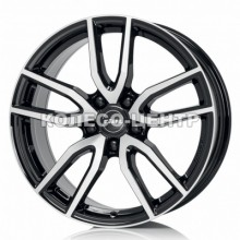 Rial Torino 6,5x16 5x105 ET40 DIA56,6 (diamond black front polished)