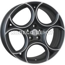 WSP Italy Alfa Romeo (W260) Grecale 8x19 5x110 ET33 DIA65,1 (matt gun metal polished)