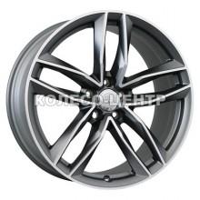 WSP Italy Audi (W570) Penelope 8,5x20 5x112 ET33 DIA66,6 (matt gun metal polished)
