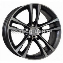 WSP Italy BMW (W681) Achille 9x19 5x120 ET41 DIA72,6 (anthracite polished) Колесо-Центр Запорожье